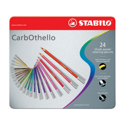 Carbothello Set 24pz. Stabilo