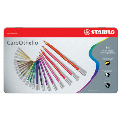 Carbothello Set 36pz. Stabilo