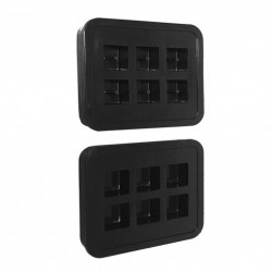 Stampo in Silicone Cubi...