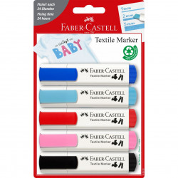 Textile Marker Baby Blister...