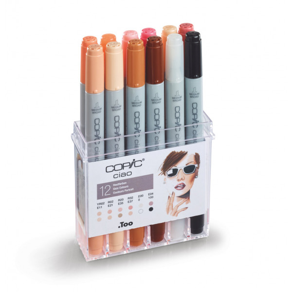 Copic Ciao Set Pelle Skin...