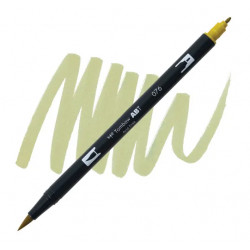 Green Ochre 076 Dual Brush...