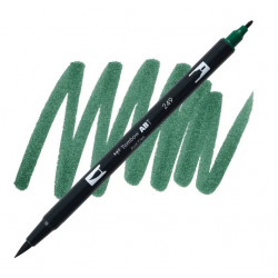 Hunter Green 249 Dual Brush...