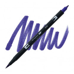 Violet 606 Dual Brush Tombow