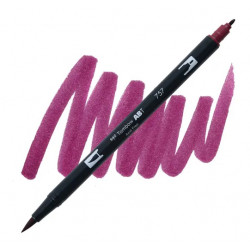 Port Red 757 Dual Brush Tombow