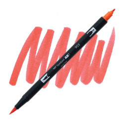 Red 905 Dual Brush Tombow