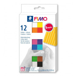 Fimo Soft Colour Pack 12x25gr.