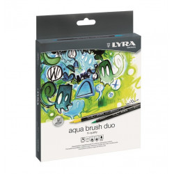 Aqua Brush Duo Set 24pz. Lyra