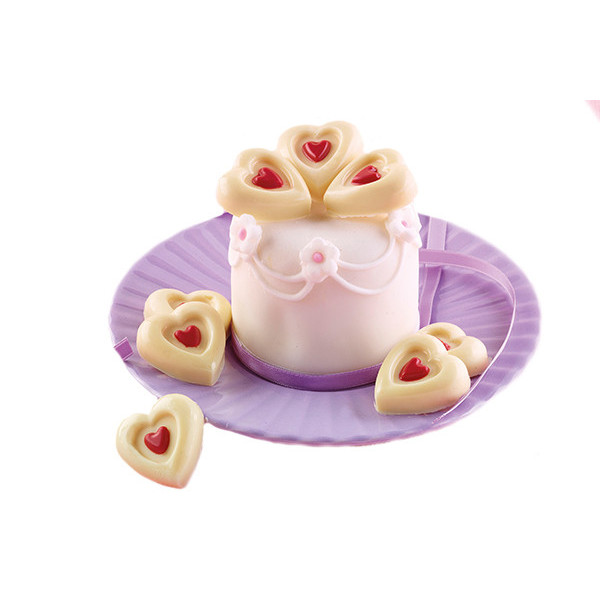 Stampo in Silicone Hearts...
