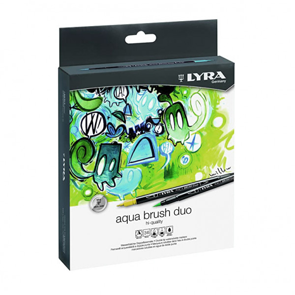 Aqua Brush Duo Set 36pz. Lyra
