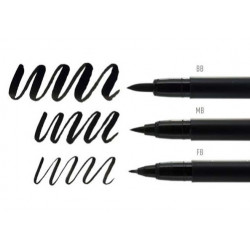 Pigma Brush Pen Set 3pz....