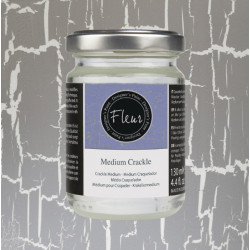 Medium Crackle 130ml. Fleur