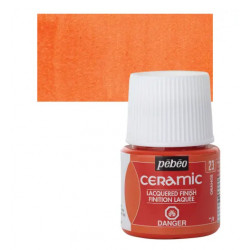 Arancio 23 Ceramic 45ml. Pebeo
