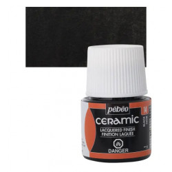 Nero 14 Ceramic 45ml. Pebeo